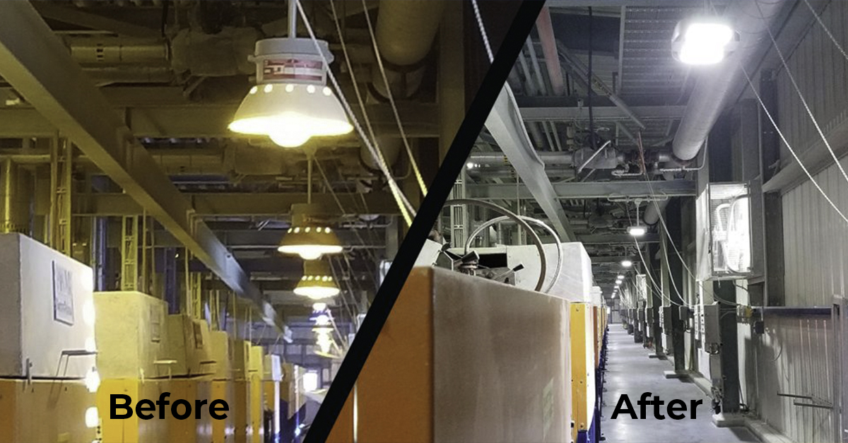 Nemalux Led Lights used at Site