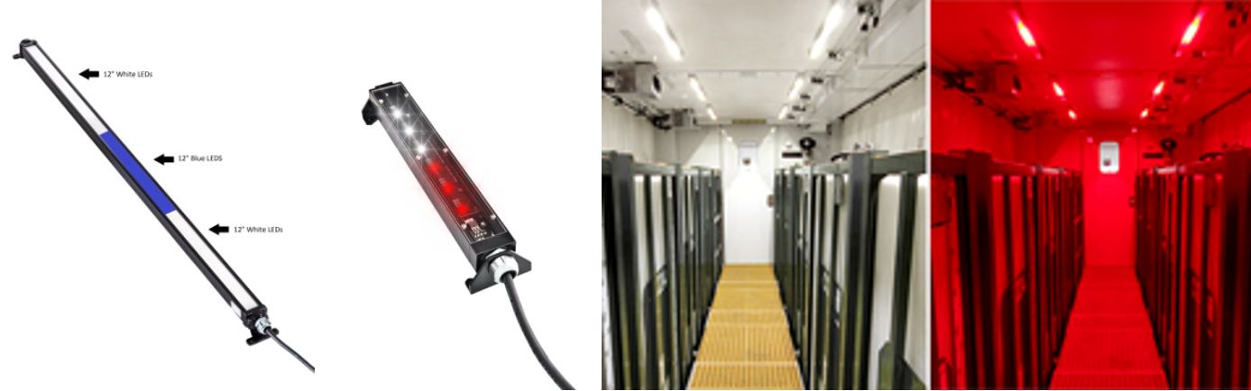 Nemalux Color Changing GS Series Linear Industrial LED Luminaires
