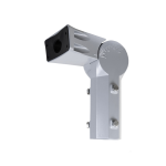 Slip fitter yoke mount for AR, XR and MR series of hazardous location (class I div 2, c1d2) and marine rated area lights