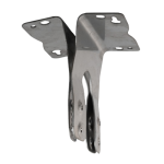 Surface Mount Brackets for XR and AR Nemalux Industrial LED Luminaires