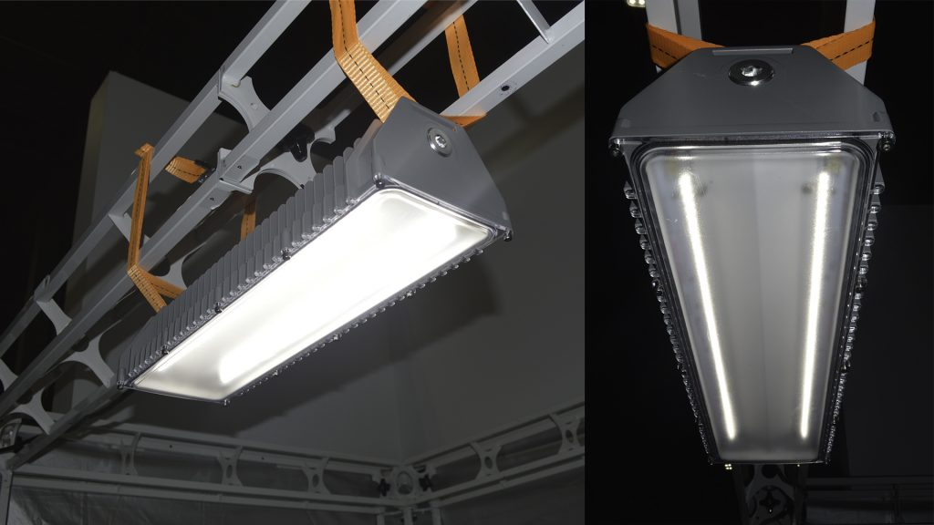 Industry application for Nemalux BL series linear industrial LED luminaire, marine and hazardous location class I div 2 (c1d2) approved and replacement for vapour tight fluorescent light