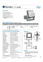 NEMALUX RS Series IP68 Spec Sheet