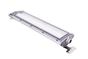 NL-Breakaway - Nemalux NL series linear industrial LED luminaire, IP66, marine and hazardous location class I div 2 (c1d2) approved and replacement for linear fluorescent light fixtures