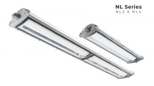 Nemalux - NL Series 2 and 4 foot linear industrial LED luminaire, IP66, marine and hazardous location class I div 2 (c1d2) approved and replacement for linear fluorescent light fixtures