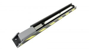 Nemalux Bullrail-GS-2 linear industrial LED luminaire for mounting on marine, dock and wharf bullrail, marine and hazardous location class I div 2 (c1d2) approvals