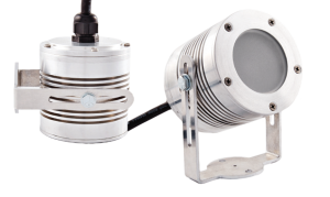 Nemalux CANLED frosted lens industrial LED luminaire, IP66 and hazardous location class I div 2 (c1d2) rated
