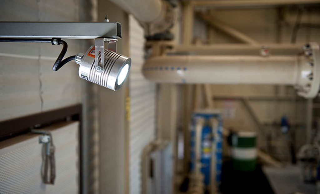 lighting application of Nemalux CANLED industrial LED luminaire, IP66 and hazardous location class I div 2 (c1d2) rated