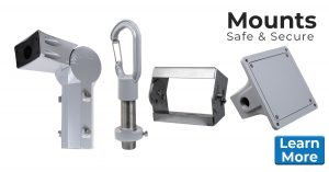 Nemalux offers a wide variety of industrial grade mounts for our luminaires including pole, hook pendant, yoke, slip fitter yoke, wall, surface, high vibration yoke and conduit.