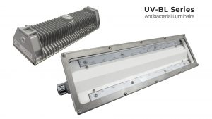 Nemalux UL-BL Antibacterial Linear Industrial LED Luminaire, class I div 2, c1d2 rated