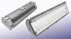 Nemalux BL series linear industrial LED luminaire, marine and hazardous location class I div 2 (c1d2) approved and replacement for vapour tight fluorescent light