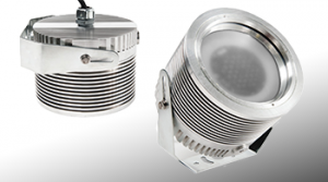Nemalux XCANLED AC Frosted Lens industrial LED luminaire, IP66 and hazardous location class I div 2 (c1d2) rated