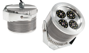 Nemalux XCANLED AC wide beam industrial LED luminaire, IP66 and hazardous location class I div 2 (c1d2) rated