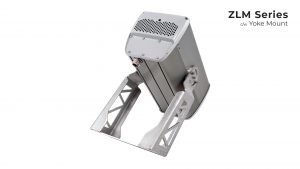Yoke mount Nemalux ZLM1 modular, compact, high lumens industrial LED luminaire, IP66 and marine rated