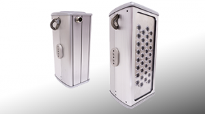 Nemalux ZLM series modular, compact, high lumens industrial LED luminaire, IP66 and marine rated