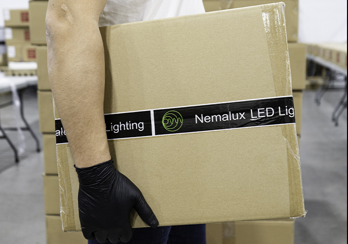 Nemalux provides industry-leading delivery time of industrial lighting fixtures