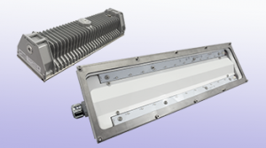 UV-BL Series of Antibacterial linear industrial LED luminaire, marine and hazardous location class I div 2 (c1d2) approved and replacement for vapour tight fluorescent light