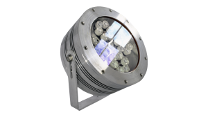 Custom IR coated Nemalux CANLED industrial LED luminaire, IP66 and hazardous location class I div 2 (c1d2) rated helps withstand extreme temperatures