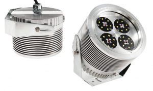 Nemalux XCANLED DC industrial LED luminaire, IP66 and hazardous location class I div 2 (c1d2) rated
