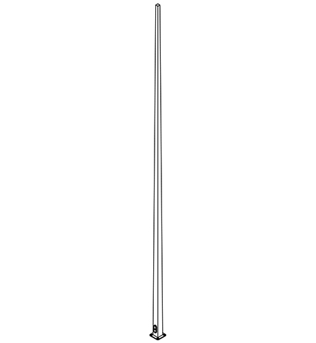 Tapered Pole LED | Outdoor Poles | Nemalux Industrial