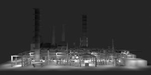 Nemalux case study - lComplimentary lighting layout design for an Industrial Plant Site